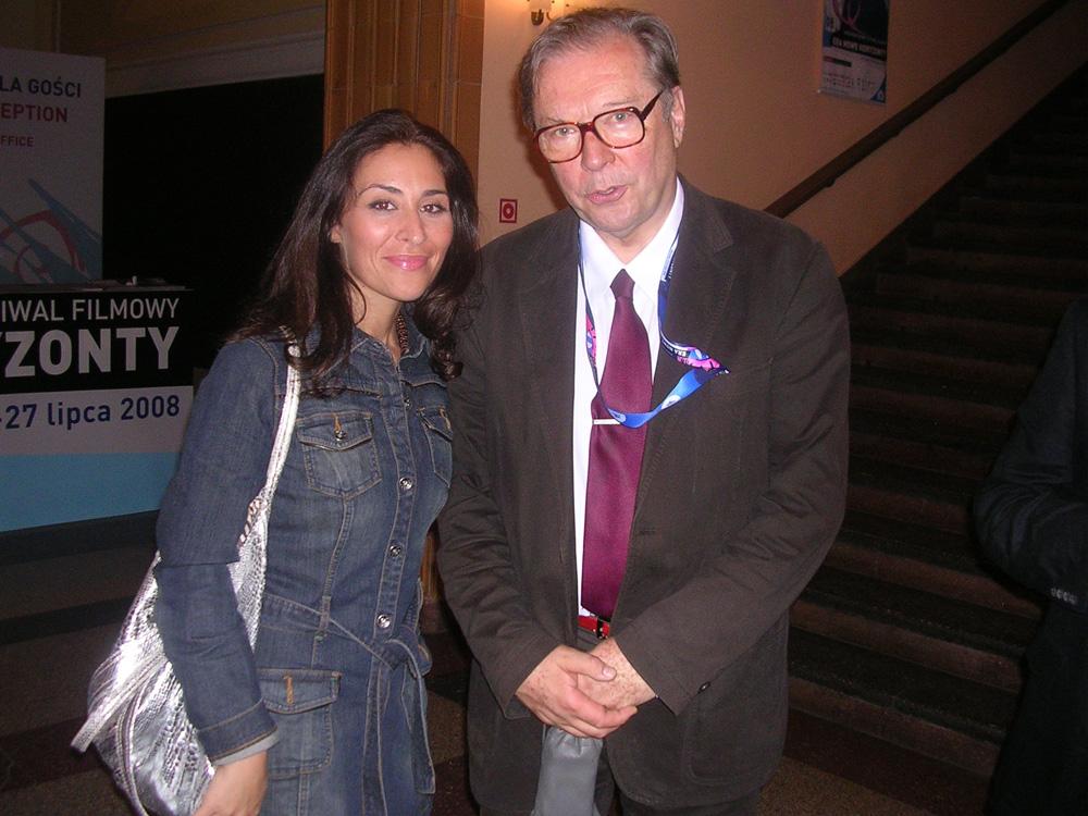 Era New Horizon Film Festival con Krzysztof  Zanussi